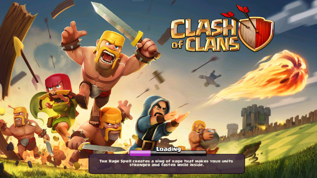 Clash of Clans spell hint