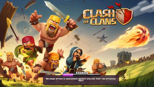 Clash of Clans revenge hint