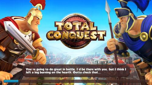 Total Conquest no comment hint