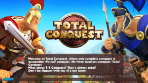 Total Conquest strange hint